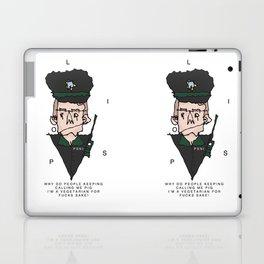 Vegetarian Polis Officer  Laptop & iPad Skin