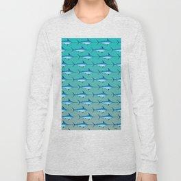 Swordfish pattern  Long Sleeve T-shirt