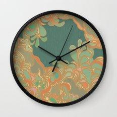Turq Wall Clock