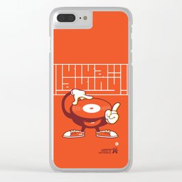 UNDO   Music to the people 07 Clear iPhone Case