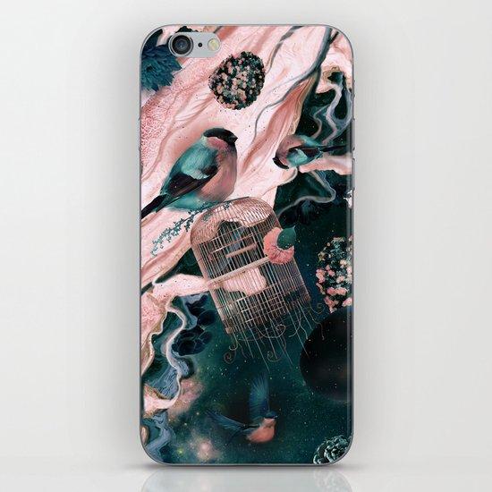 flower egg iPhone & iPod Skin