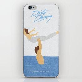 Dirty Dancing Alternative Minimalist Movie Poster iPhone Skin