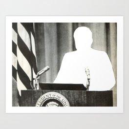 Unpresidented Art Print