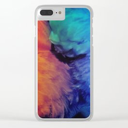 Their Powers Combined Clear iPhone Case