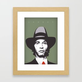 Jhonny Stecchino Framed Art Print