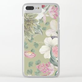 pattern2011 Clear iPhone Case