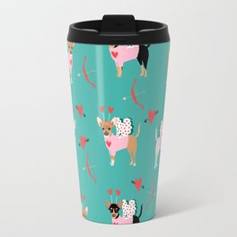 Chihuahua love bug valentines day gifts for chihuahuas pure breed must haves Travel Mug