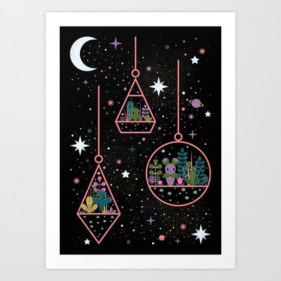 Little Worlds Art Print