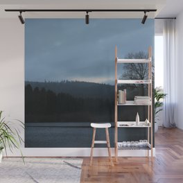 Morning Over The Invisible Lake Wall Mural