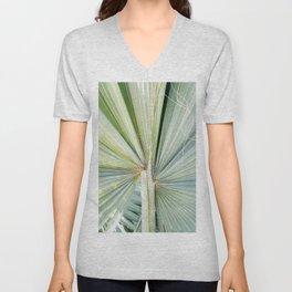 Fanned Palms Unisex V-Neck