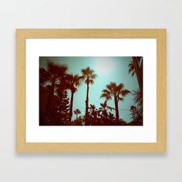 Lomo Beach Framed Art Print
