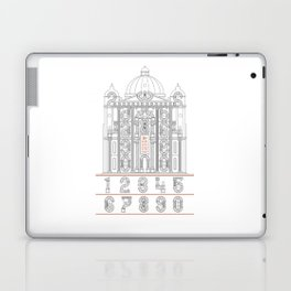 Roman Numerals Laptop & iPad Skin
