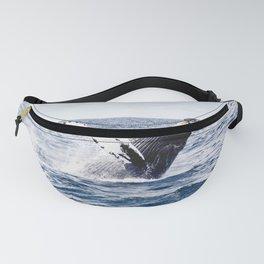 Humpback Whale Ocean Fanny Pack