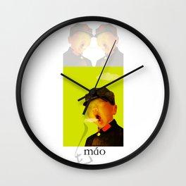 Kid Mao Wall Clock
