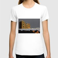 scotland T-shirts featuring Scotland Winter by dacarrie