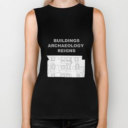 Buildings Archaeology Reigns Biker Tank