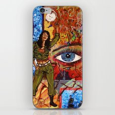 Militant Millie and the Peace Grenade iPhone & iPod Skin