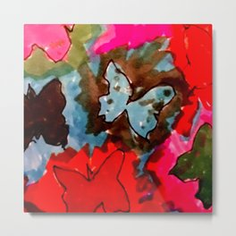 float like a butterfly 6 Metal Print