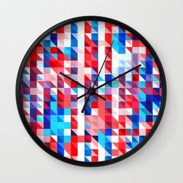 AMERICANA PATTERN Wall Clock