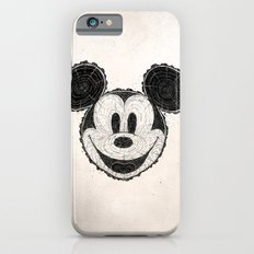 wooden Mickey Mouse Slim Case iPhone 6s