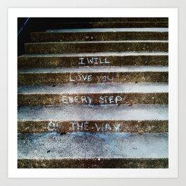 Step of the Way... Art Print