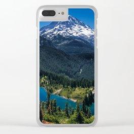 Tolmie Peak Mt Rainier Eunice Lake Clear iPhone Case