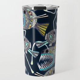deep sea anglerfish Travel Mug