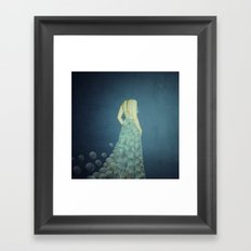 wedding day Framed Art Print