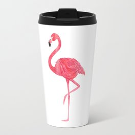 Flamingo fuchsia flap Travel Mug