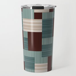 Geometric Midcentury Pattern 3 Travel Mug