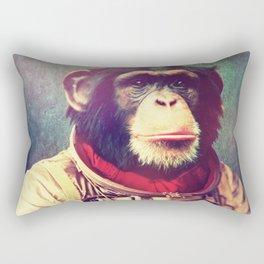 astro monkey Rectangular Pillow