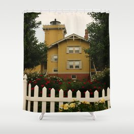 Hereford Light In North Wildwood Shower Curtain