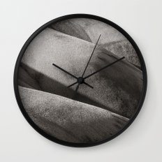 Painted Hills Monochrome Wall Clock