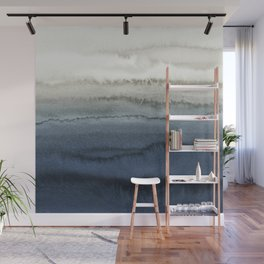 WITHIN THE TIDES - CRUSHING WAVES BLUE Wall Mural