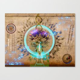 GODDESS OF PROCESSING (The American Gods Collection) Canvas Print