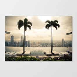 Between the Clouds Canvas Print