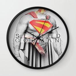 Sliced Kal Wall Clock