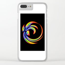 Abstract Perfection 27 Clear iPhone Case