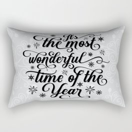 The Most Wonderful Time Of The Year Rectangular Pillow