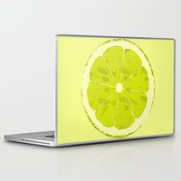 lime Laptop & iPad Skins featuring Lime by Avigur