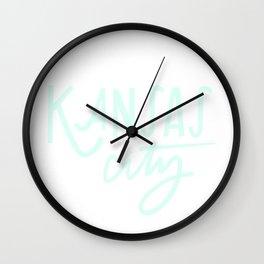 Mint Kansas City Wall Clock