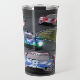 GT American Sports Car Le Mans 2019 Travel Mug