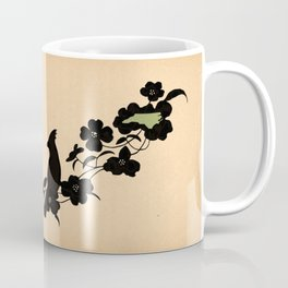 North Carolina - State Papercut Print Coffee Mug