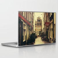 amsterdam Laptop & iPad Skins featuring Amsterdam by Pati Designs