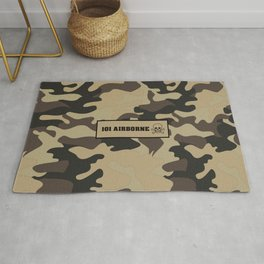 Military Camouflage 101 airborne Rug