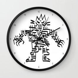 Back 2 the bone Wall Clock