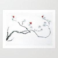 minimalism Art Prints featuring Minimalism by Michelle Scott