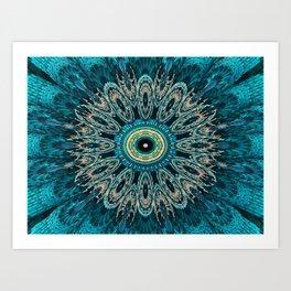 Candys Mandala Art 3 Art Print