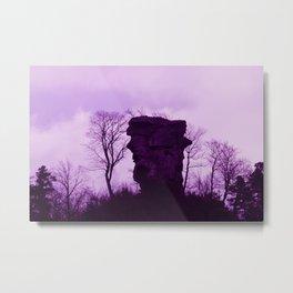 Purple Anebos  - JUSTART © Metal Print