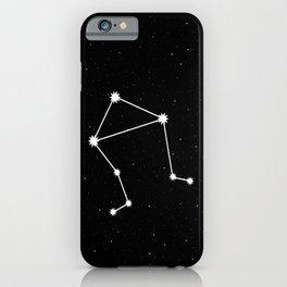Libra Star Sign Night Sky iPhone Case